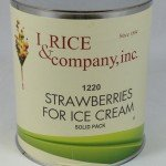 I.Rice Solid Pack Strawberries ZRC218