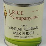 I.Rice Sundae Supreme Hot Fudge Topping ZRC600