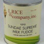 I.Rice Sundae Supreme Hot Fudge Topping ZRC600